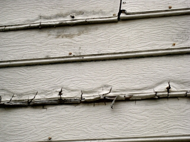 Siding failures common to the boise area for Fire resistant house siding material hardboard
