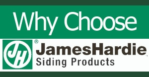 why Choose James Hardie Siding