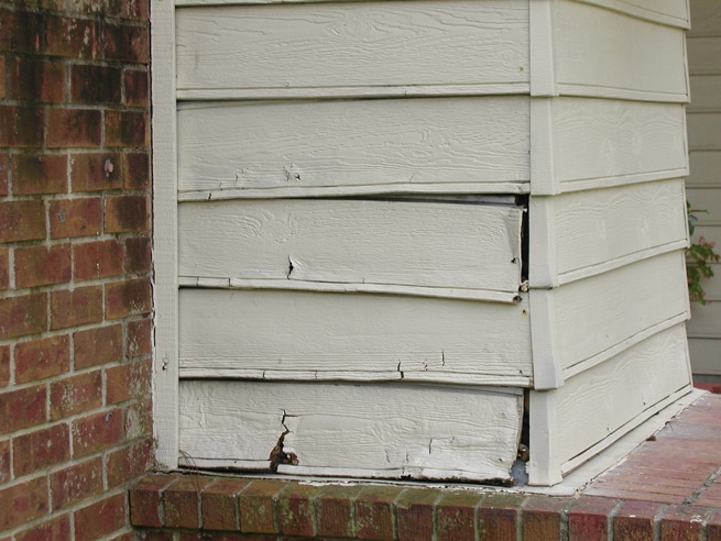 Siding Water Damage Siding Pros Of Idaho